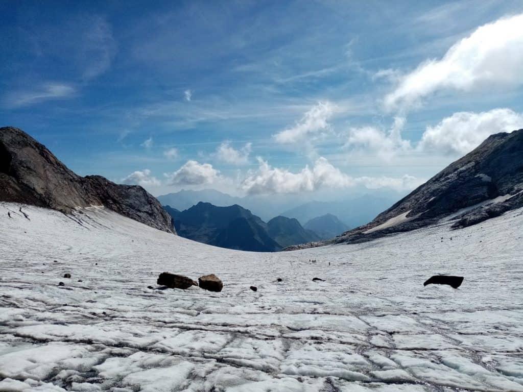 Photographie du glacier d'Ossoue le 05/09/2021
